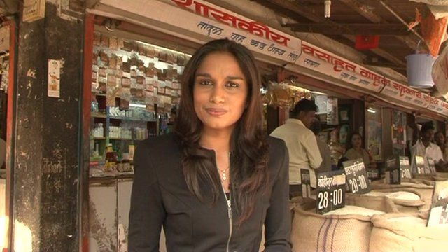 The BBC's Nidhi Dutt reports from outside a Mumbai shop