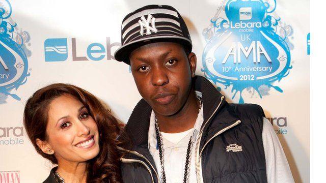 Preea Kalidas and Jamal Edwards