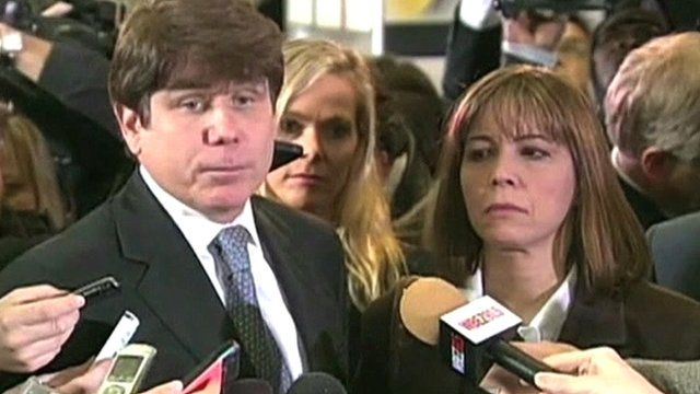 Rod Blagojevich and his wife Patti