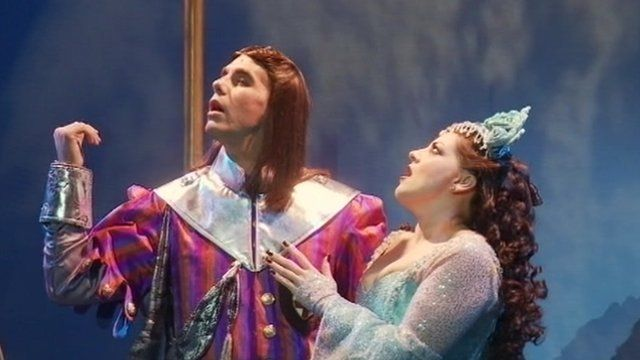 A scene from Spamalot