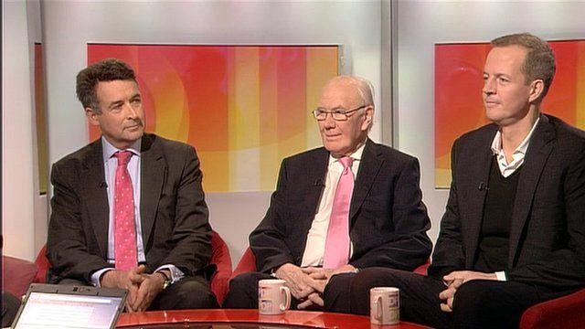 Bernard Jenkin, Sir Menzies Campbell and Nick Boles