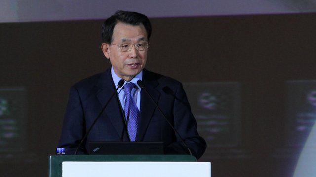 Former South Korean prime minister Han Seung-soo