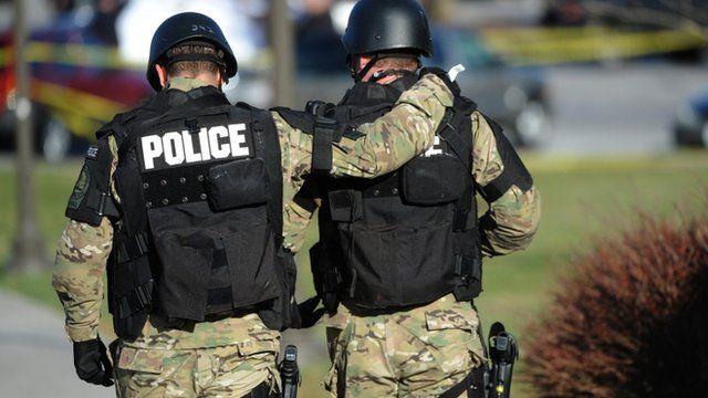 Police at Virginia Tech