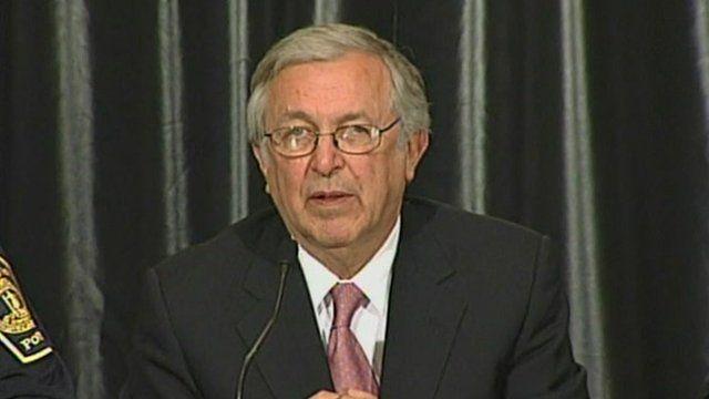 Virginia Tech's President, Dr Charles Steger