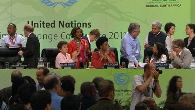 Climate conference in Durban
