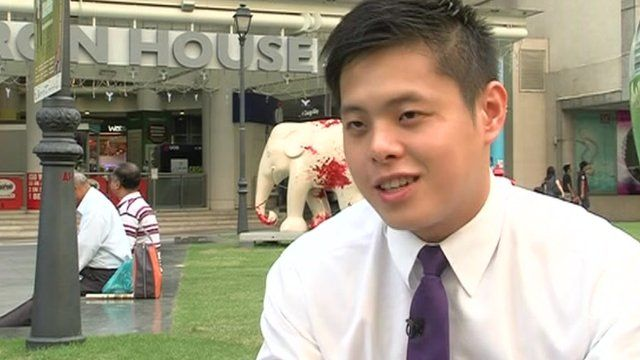 Singapore property broker Stephen Choo