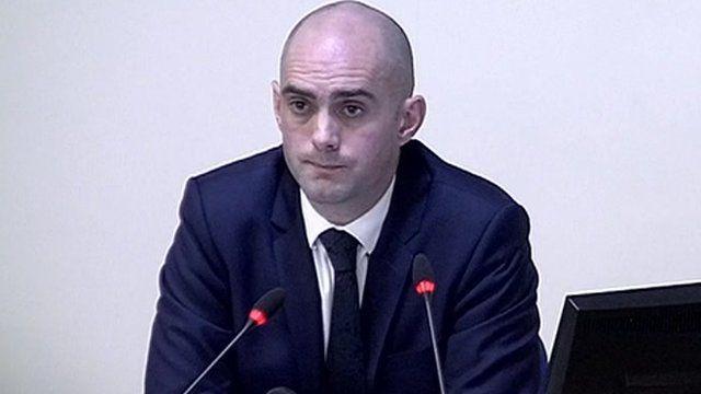 Former News of the World reporter Daniel Sanderson