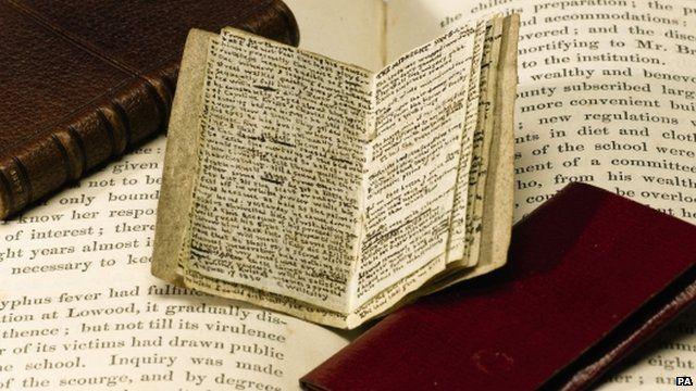 Charlotte Bronte's mini-manuscript