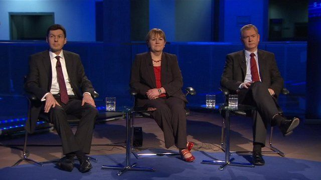 Candidates for the post of Scottish Labour party leader.