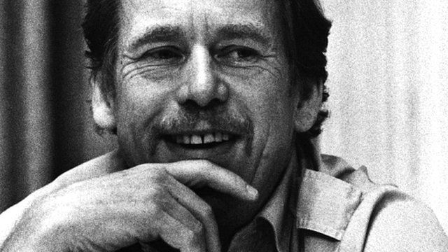Vaclav Havel, pictured in 1989