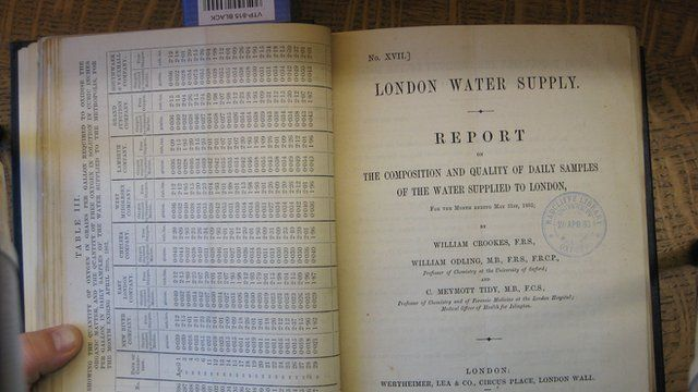 Record of Thames water quality