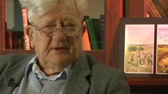 Watership Down author Richard Adams