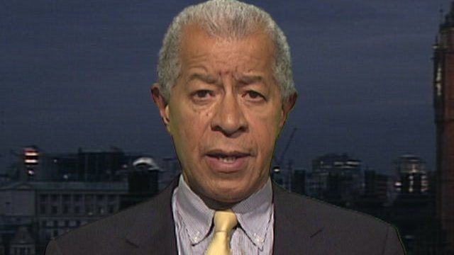 Lord Herman Ouseley, chairman of Kick It Out