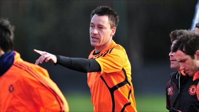 England captain John Terry