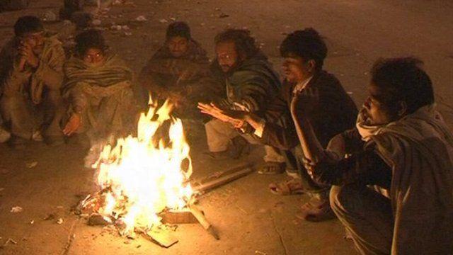 Homeless people in Delhi