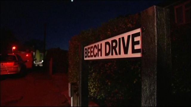 Beech Drive sign