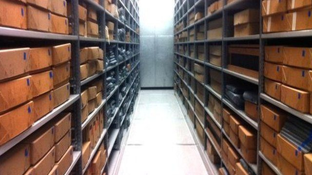 The county archive on Anglesey