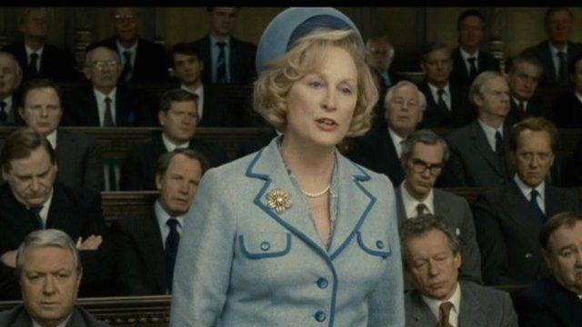 Meryl Streep as Margaret Thatcher in The Iron Lady - Pathe