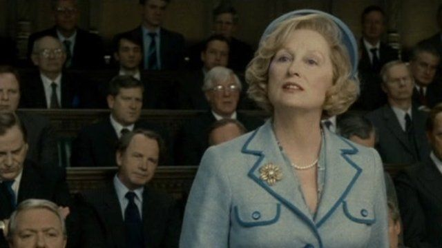 Streep as Thatcher in The Iron Lady