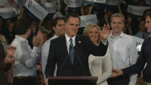 Mitt Romney among reporters in New Hampshire.