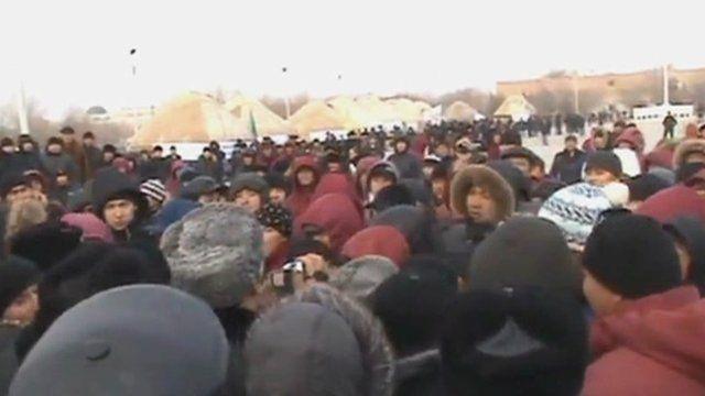 Protests in Kazakhstan