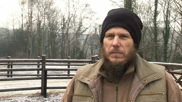 Paul Hodgkinson encountered problems after buying a farm in Norway