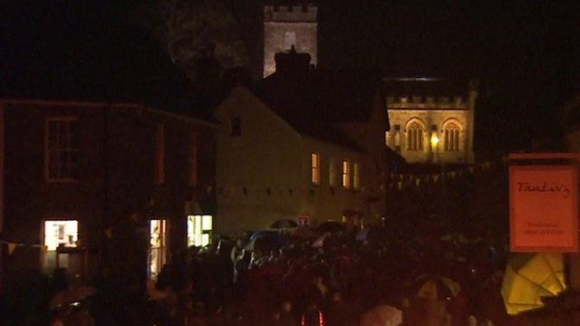 Dulverton switching off its lights