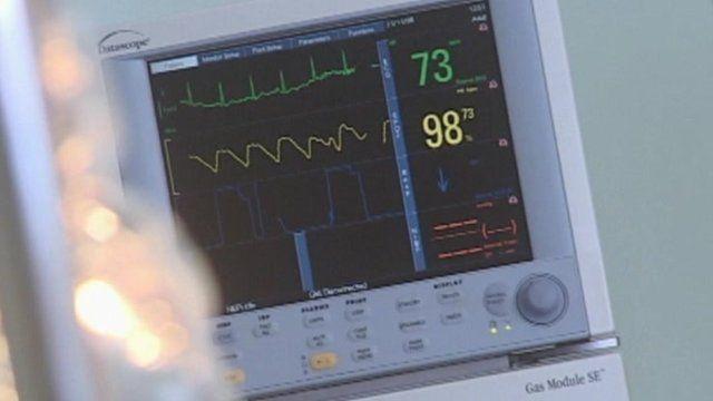 Heart monitor machine