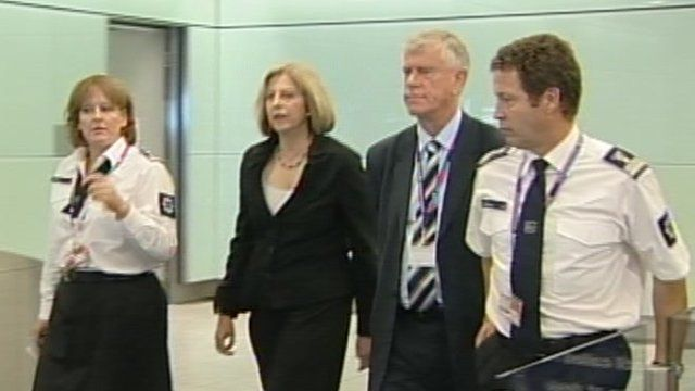 Theresa May and Brodie Clark