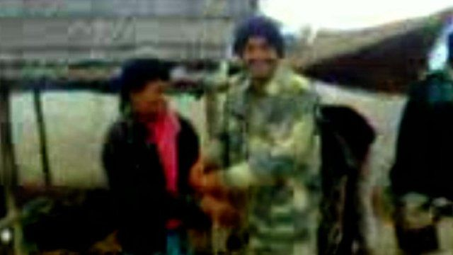 Border guard and Bangladeshi suspect