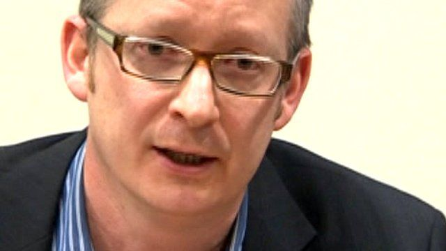 Consultant neonatologist Dr Clifford Mayes
