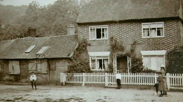 The cottage where Georgina Brown was born