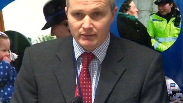 Detective Superintendent Martin Evans of Staffordshire police