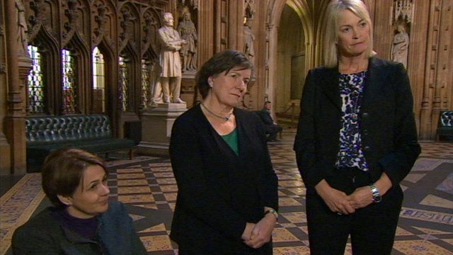 Baroness Tanni Grey-Thompson, Baroness Tonge and Margot James MP
