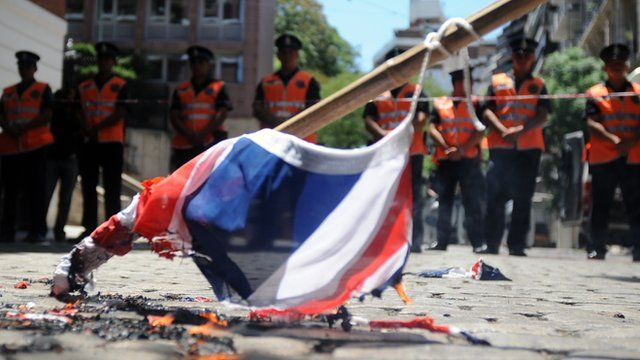 Burnt British Flag