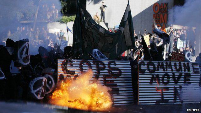Occupy demo