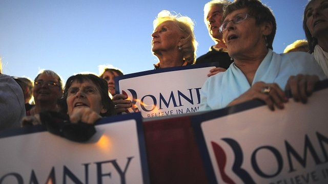 Mitt Romney supporters