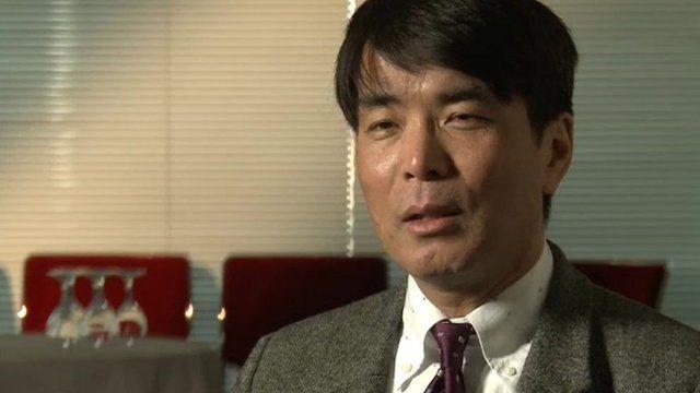 Japanese author Yoji Gomi