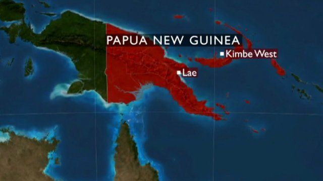 Graphic of Papua New Guinea