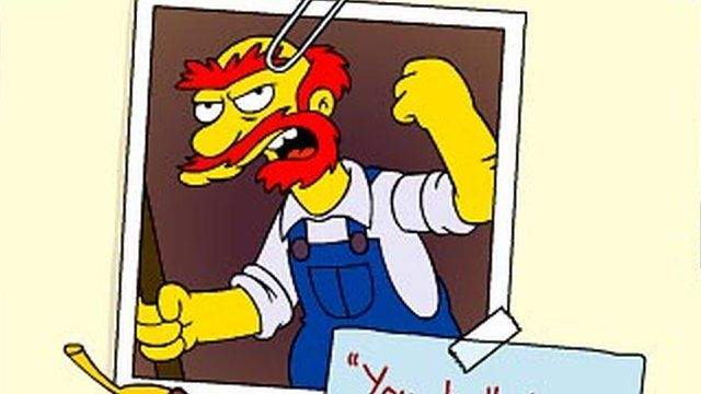 Groundskeeper Willie [Pic: The Simpsons/Fox website]