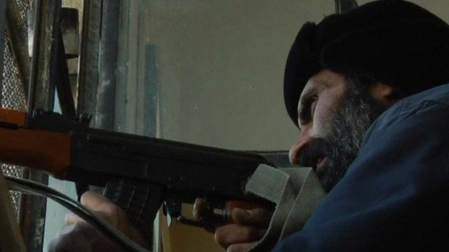 Opposition fighter in Syria