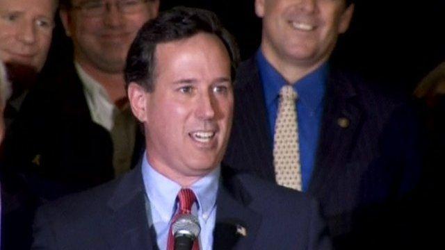 The former Pennsylvania senator Rick Santorum