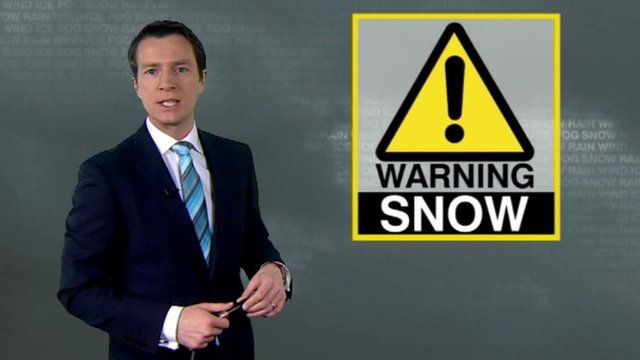 The BBC's Alex Deakin looks at conditions for Thursday night.