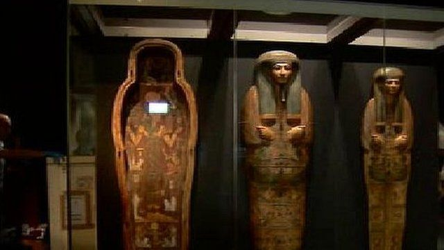 Mummies at the National Museum of Scotland