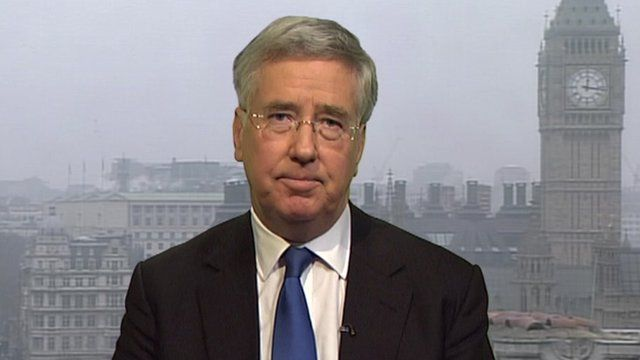 Michael Fallon MP, Deputy Chairman, Conservative Party
