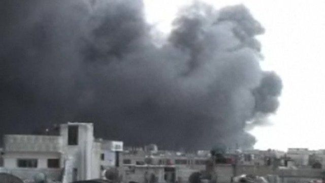 Blast in Syrian city Homs