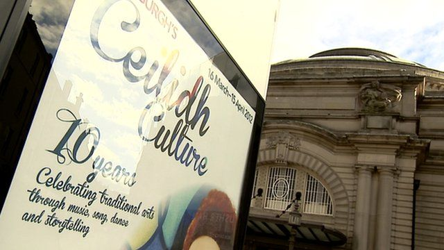 Poster for Ceilidh Culture
