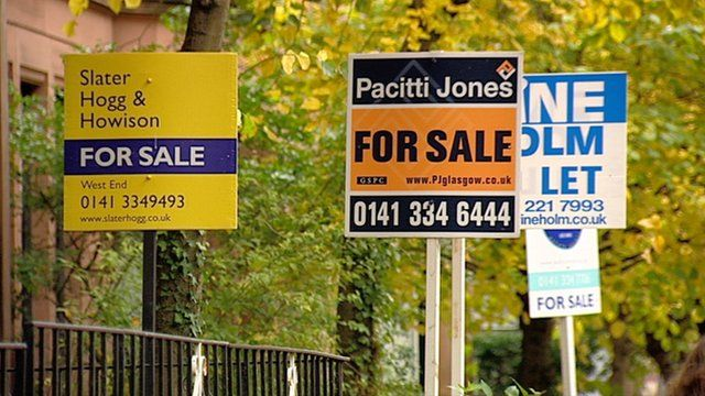 Property 'for sale' signs
