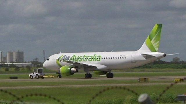 Air Australia plane