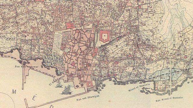 Jinny software beirut map